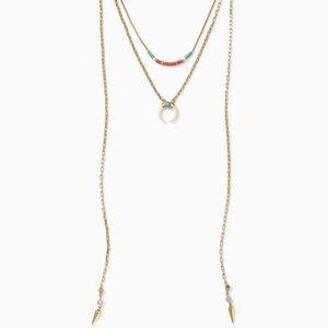 Stella & Dot Grand Layered Necklace
